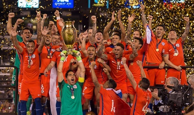 Chile se alzó como campeón de la pasada edición de la Copa América.