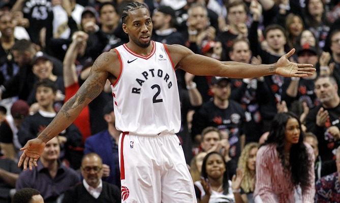 Kawhi Leonard y los Toronto Raptors quieren cerrar la serie ante los Golden State Warriors.