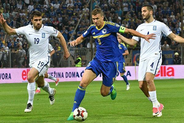 Italia vs. Bosnia y Herzegovina