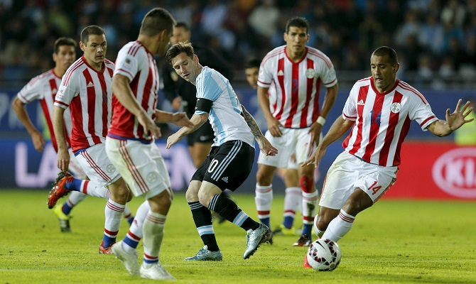 Paraguay y Argentina buscan quitarse el mal sabor de boca tras un mal inicio en la Copa América.