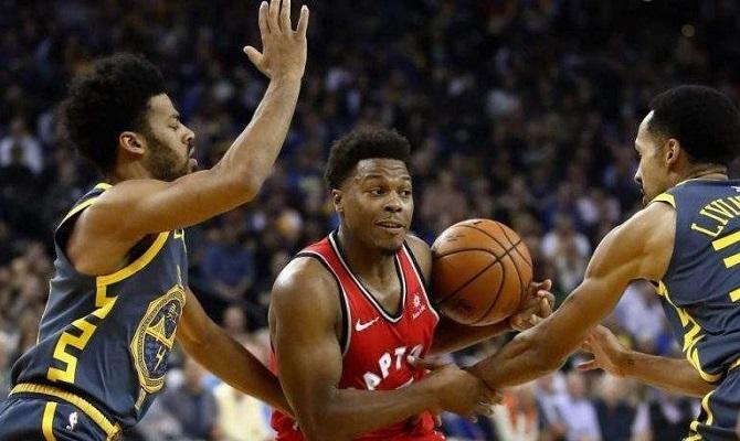 Los Toronto Raptors buscarán nuevamente una victoria ante los Golden State Warriors para coronarse.