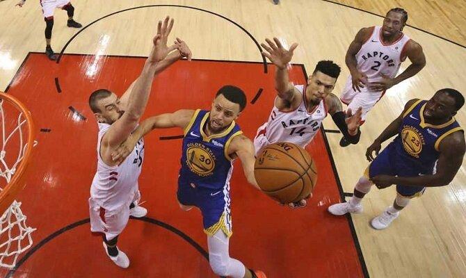 Golden State Warriors y Toronto Raptors van a la Bahía para continuar con las Finales de la NBA.