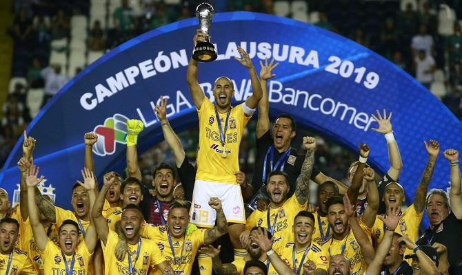 Tigres busca su segundo título en fila en el Apertura 2019.