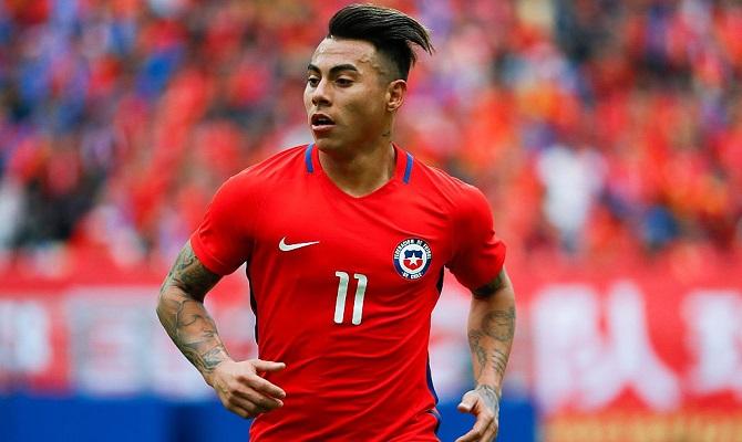 Eduardo Vargas y Chile buscan avanzar a la Final ante Perú.