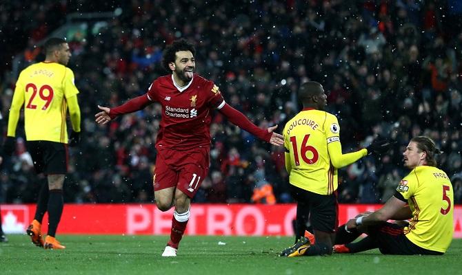 Mohamed Salah y el Liverpool buscan su primera victoria ante el Norwich City.