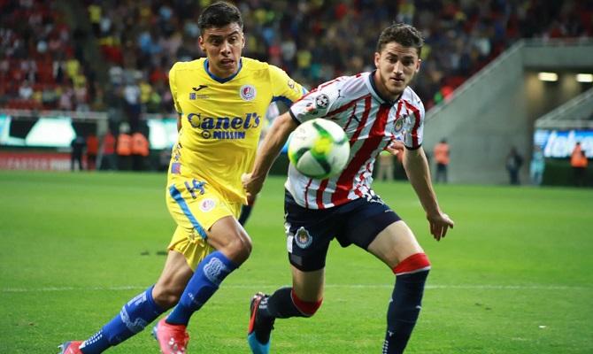 El Atlético San Luis y Chivas de Guadalajara buscan su segunda victoria del torneo.