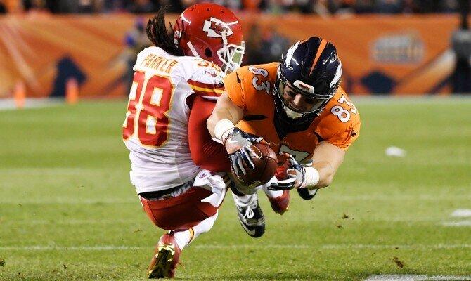Broncos de Denver vs Jefes de Kansas City.