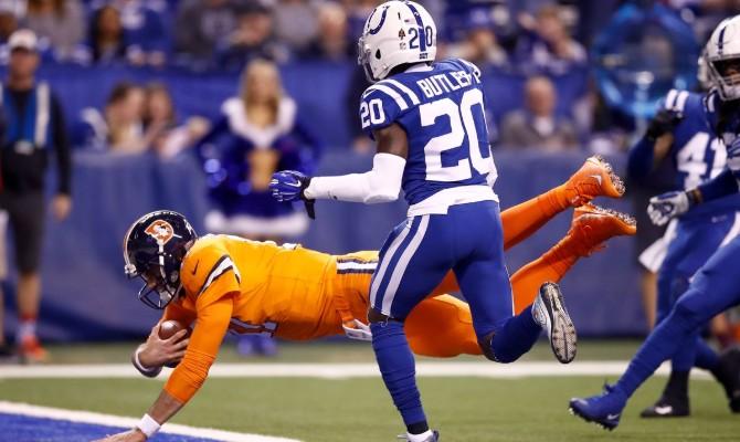 Los Potros de Indianápolis reciben a los Broncos de Denver.