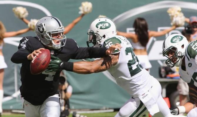 Los Raiders de Oakland tienen una complicada visita ante los Jets de Nueva York