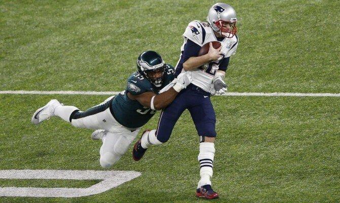 Águilas de Filadelfia vs Patriotas de Nueva Inglaterra