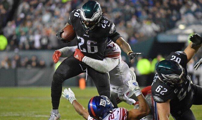 Gigantes de Nueva York vs Águilas de Filadelfia