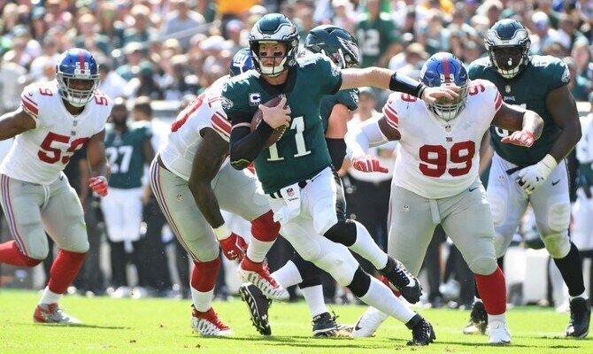 Águilas de Filadelfia vs Gigantes de Nueva York