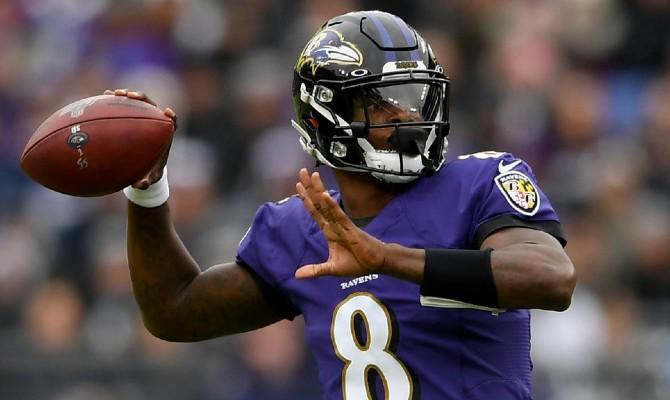 Cuervos de Baltimore vs Titanes de Tennesse