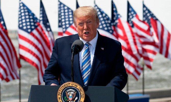El Presidente Donald Trump busca la reelección