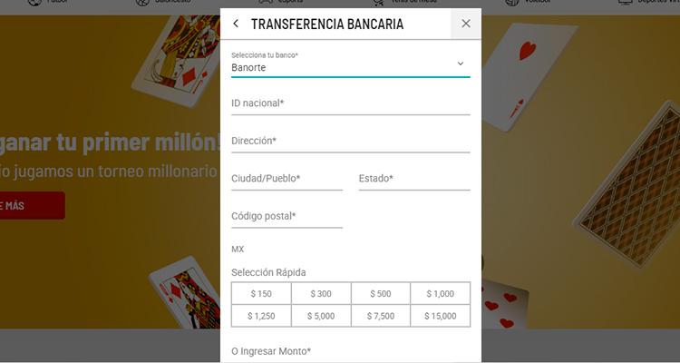 ayuda para depositar con Banorte