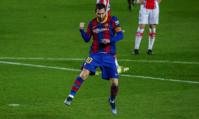 Lionel Messi se encuentra listo para el Barcelona vs PSG de los octavos de final de la UEFA Champions League.