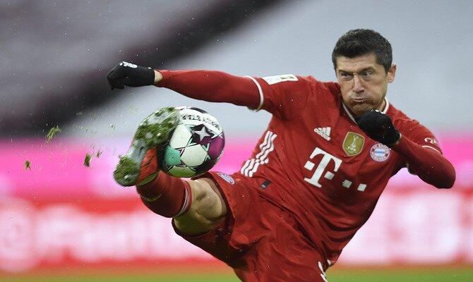 Robert Lewandowski es el máximo referente para el encuentro de la Champions League Lazio vs Bayern Munich.
