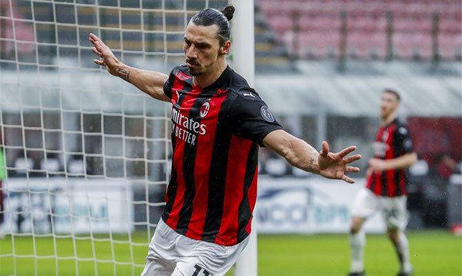 Zlatan Ibrahimovic es la figura del cuadro Rossoneri y busca ser la figura en el próximo Milan vs Inter de la Serie A.