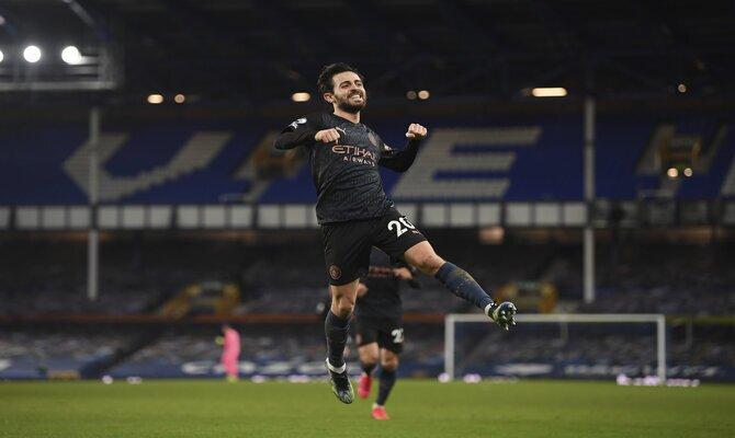 Bernardo Silva será uno de los protagonistas en las apuestas para el juego Borussia Monchengladbach vs Manchester City.
