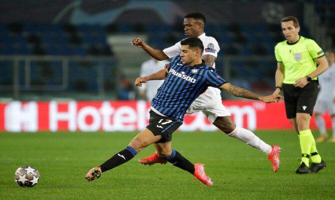 Vinicius Jr., a la derecha en la imagen, puede ser uno de los protagonistas en las cuotas para el Real Madrid vs Atalanta
