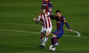 Messi tiene una alta cuota goleadora en el Athletic Club vs Barcelona y buscará marcar en la Final.