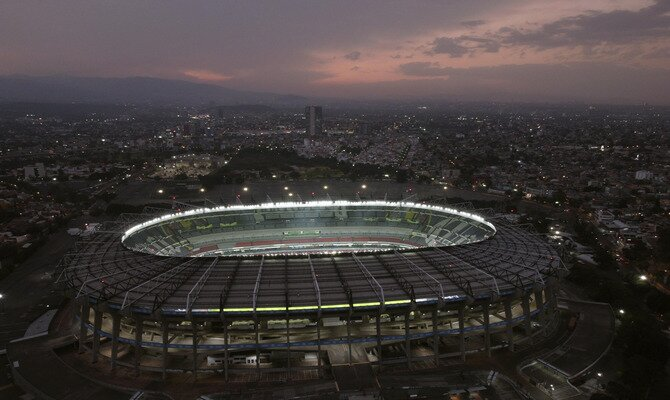 El majestuoso Estadio Azteca será el escenario que tendrá los reflectores durante el Cruz Azul vs Guadalajara.