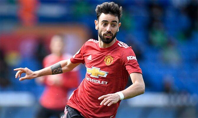 Bruno Fernandes es el jugador a seguir en la Europa League: Cuotas Manchester United vs Roma.