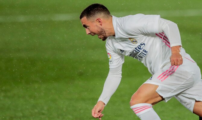 Hazard está de regreso para la semifinal de UEFA Champions League en el Real Madrid vs Chelsea.