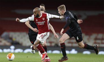 Lacazette tiene la responsabilidad ofensiva en las cuotas del Slavia Praga vs Arsenal de la UEL