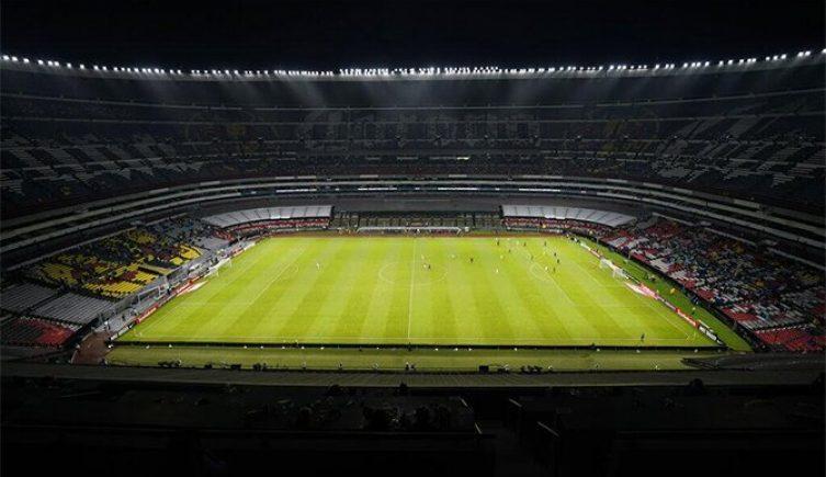 Imagen del Estadio Azteca, en el que se disputará el duelo entre América y Guadalajara de la Liga Mx