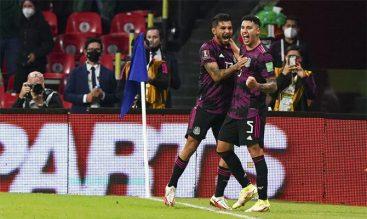 Imagen de Jesús Corona celebrando un gol. Cuotas Eliminatoria de CONCACAF, México vs Honduras.